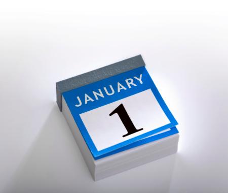 January「Calendar new year 2016 January 1st」:スマホ壁紙(14)