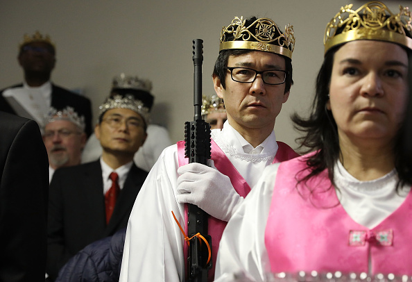 Pennsylvania「World Peace And Unification Sanctuary Religious Group Holds Blessing Ceremony For Couples And Their AR-15 Rifles」:写真・画像(6)[壁紙.com]