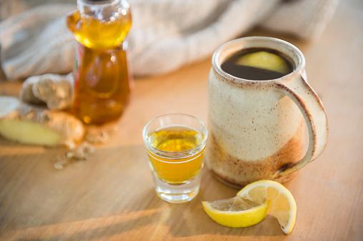 Ginger - Spice「Hot tea with lemon slices」:スマホ壁紙(14)