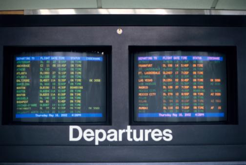 Kennedy Airport「Departure Screen」:スマホ壁紙(14)