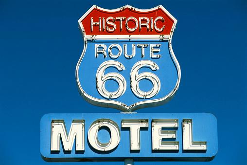 Yavapai County「Route 66 Motel Sign」:スマホ壁紙(18)