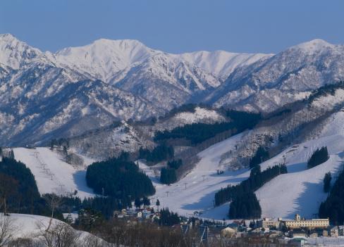 Ski Resort「Yuzawa Park Ski Resort, Yuzawa, Minamiuonuma, Niigata, Japan」:スマホ壁紙(13)