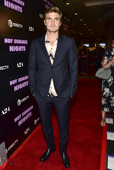 "Rodin Eckenroth「Screening Of A24's ""Hot Summer Nights"" - Red Carpet」:写真・画像(3)[壁紙.com]"