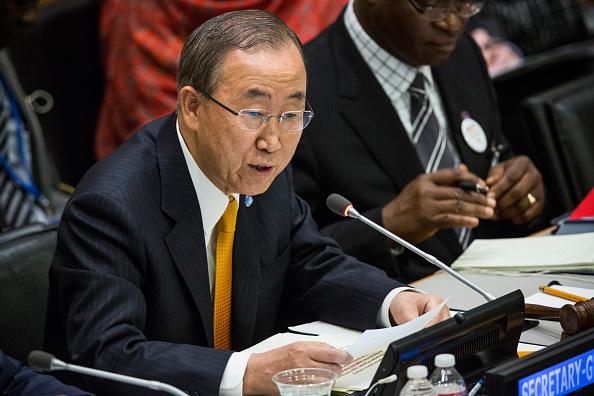 Secretary-General「UN Holds High-Level Meeting On Ebola Virus Outbreak」:写真・画像(19)[壁紙.com]