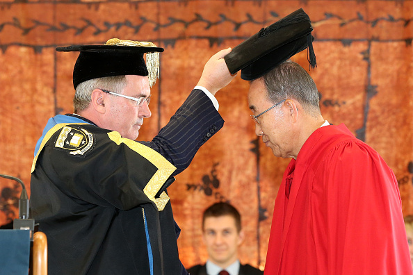 Patriotism「University Of Auckland Awards UN Secretary General, Ban-Ki Moon, Honorary Doctorate」:写真・画像(19)[壁紙.com]