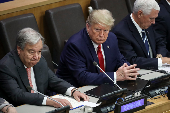 United Nations Building「President Trump Addresses Meeting On Religious Freedom At The United Nations」:写真・画像(17)[壁紙.com]