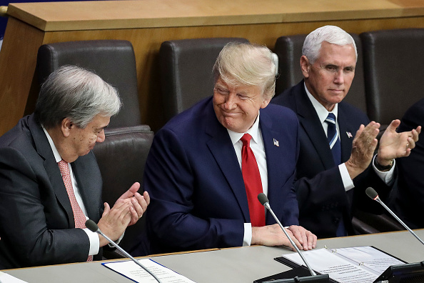 United Nations Building「President Trump Addresses Meeting On Religious Freedom At The United Nations」:写真・画像(16)[壁紙.com]