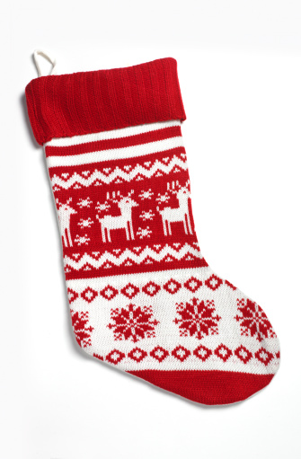 Knitted「Christmas stockings」:スマホ壁紙(1)