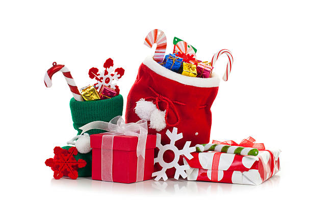 Christmas stocking:スマホ壁紙(壁紙.com)