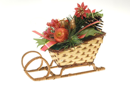 Sled「christmas straw sleigh」:スマホ壁紙(10)