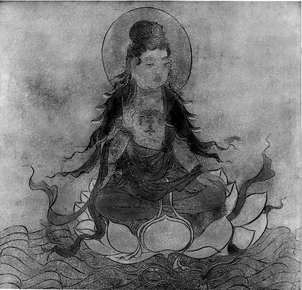 Water Lily「Bodhisattva. Creator: Unknown.」:写真・画像(9)[壁紙.com]