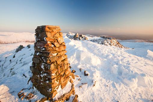 Snowdrift「Red Screes in the Lake District, UK.」:スマホ壁紙(19)