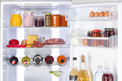 Ham「fridge with nutrition and drinks」:スマホ壁紙(19)