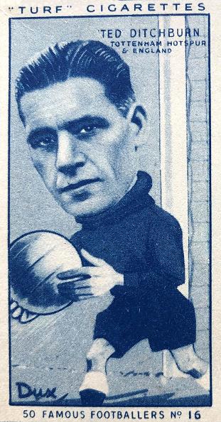 Grass「Ted Ditchburn Tottenham Hotspur Cigarette Card 1951」:写真・画像(3)[壁紙.com]