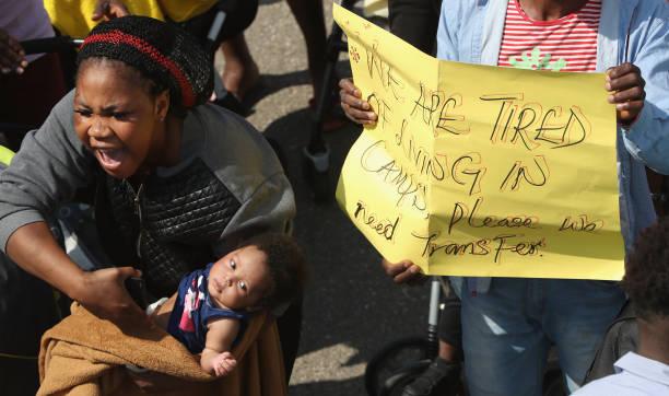 Press Day At Transit Center For Asylum Seekers:ニュース(壁紙.com)