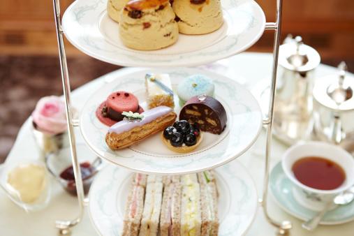 Teapot「Cakes and afternoon tea」:スマホ壁紙(1)