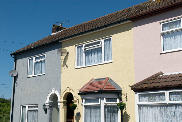 Row House「End of terrace houses, Harwich, Essex, UK」:写真・画像(3)[壁紙.com]