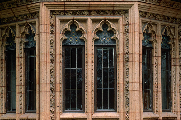 Intricacy「Detail of facade designed by Frank Lloyd Wright. Chicago. Illinois, USA.」:写真・画像(18)[壁紙.com]