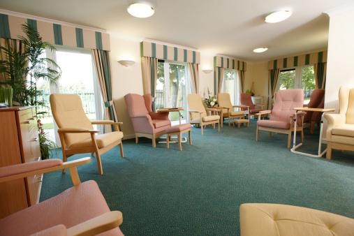 Built Structure「Nursing home living room」:スマホ壁紙(5)
