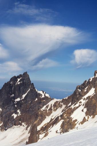 スノーボード「Mount Baker covered with snow, National Recreation Area, Washington, USA」:スマホ壁紙(12)