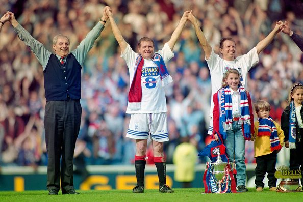 Glasgow - Scotland「Rangers Win 8 Scottish Titles in a row 1996」:写真・画像(6)[壁紙.com]