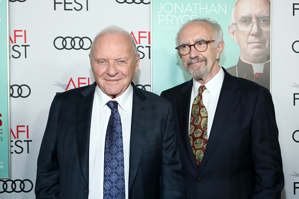 Two People「AFI Fest 2019 - The Two Popes Gala Event」:写真・画像(0)[壁紙.com]