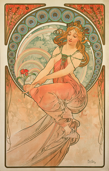 Art Nouveau「Painting (From The Series The Arts)」:写真・画像(19)[壁紙.com]