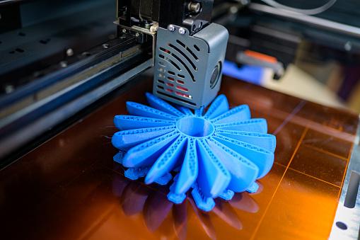 3D Printing「Plastic fan propeller 3D printing process」:スマホ壁紙(17)