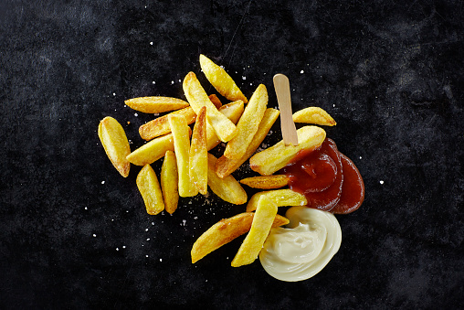 Tomato Sauce「French fries with mayonnaise and ketchup」:スマホ壁紙(13)