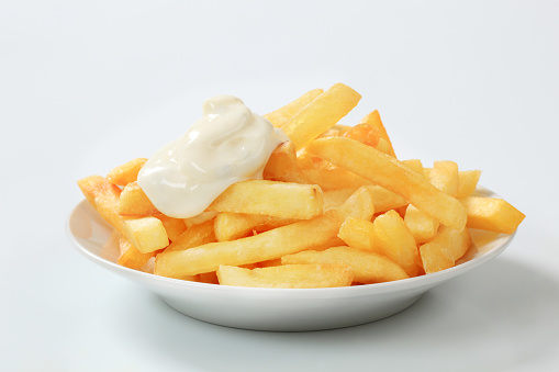 Fast Food French Fries「French fries with mayonnaise」:スマホ壁紙(11)