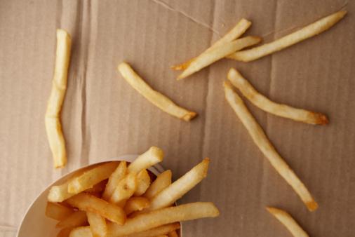 Slippery「French fries on cardboard box」:スマホ壁紙(3)