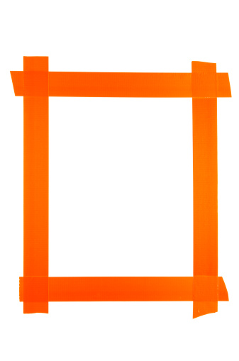 Duct Tape「Frame Made From Orange Duct Tape」:スマホ壁紙(11)
