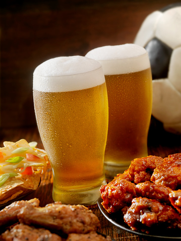 Animal Wing「Beer, Soccer and Wings」:スマホ壁紙(9)