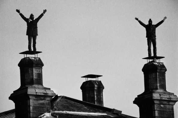 Tom Stoddart Archive「Barlinnie Roof Protest」:写真・画像(12)[壁紙.com]