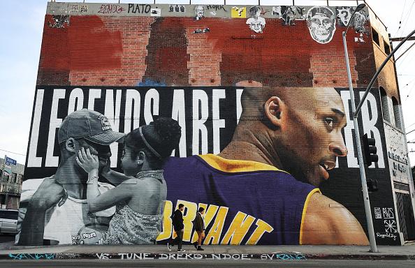 Mural「Los Angeles Lakers Legend Kobe Bryant Memorialized Across L.A. In Murals」:写真・画像(17)[壁紙.com]