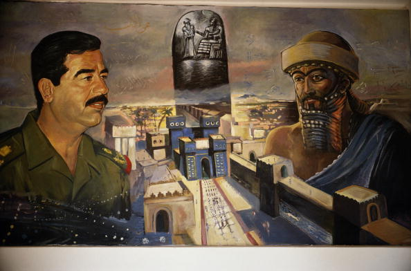 Saddam Hussein「Murials Of Saddam Hussein」:写真・画像(19)[壁紙.com]