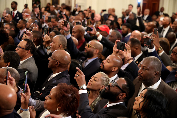 Black History Month「President Trump Speaks At African American History Month Reception」:写真・画像(18)[壁紙.com]