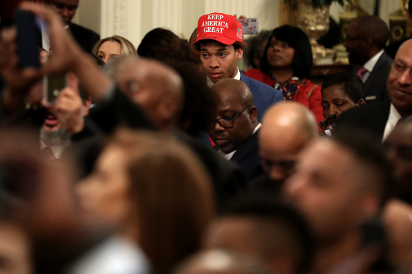 Black History Month「President Trump Speaks At African American History Month Reception」:写真・画像(16)[壁紙.com]