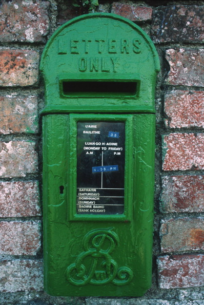 Wall - Building Feature「Irish Post Box」:写真・画像(13)[壁紙.com]