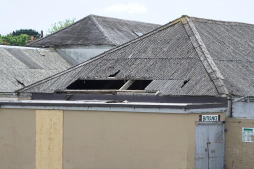 Deterioration「Broken Roof」:スマホ壁紙(18)