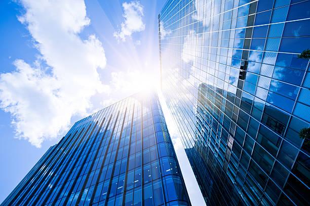 Business District, Corporate Buildings in London:スマホ壁紙(壁紙.com)