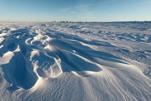 Snowdrift「Weathered snowdrift.」:スマホ壁紙(17)