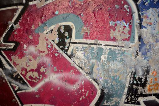 Airbrush「Grungy graffiti on a concrete wall」:スマホ壁紙(6)
