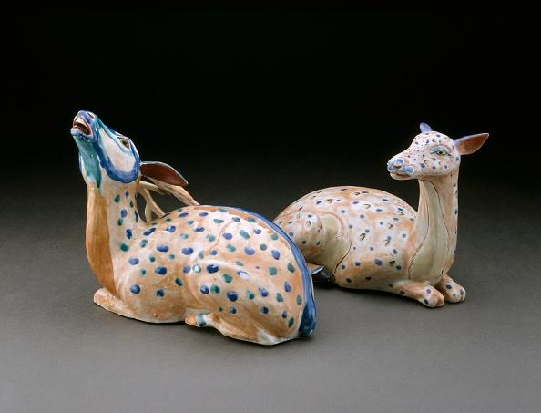 Animal Representation「Figure Of A Reclining Stag」:写真・画像(3)[壁紙.com]