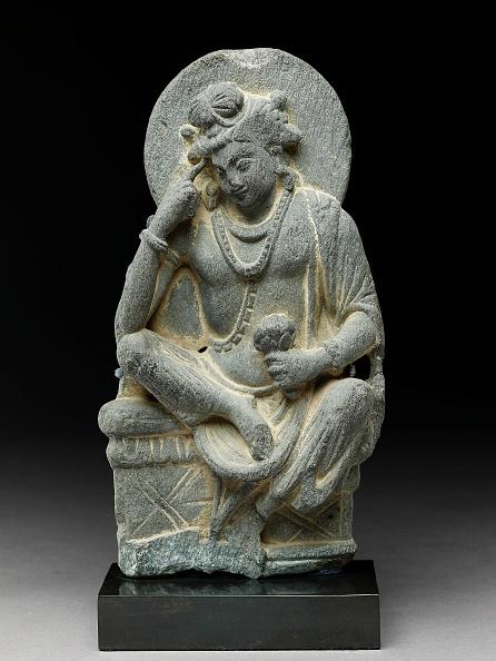 スタジオ撮影「Figure Of Avalokiteshvara In Pensive Pose」:写真・画像(8)[壁紙.com]