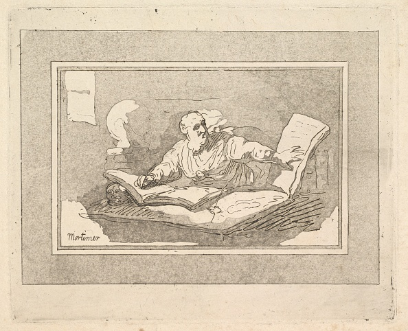 Philosopher「The Philosopher (Bearded Old Man Copying Book)」:写真・画像(10)[壁紙.com]