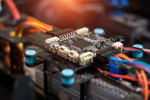Mother Board「High-tech Equipment CPU Chip」:スマホ壁紙(2)