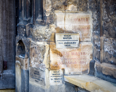 King's Lynn「High water marks on King's Lynn Minster」:スマホ壁紙(0)