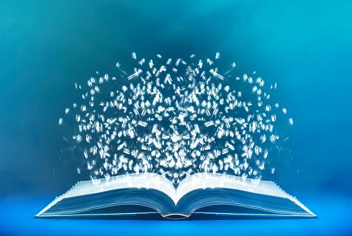 Number「Data from an open book」:スマホ壁紙(10)