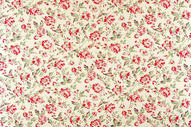 Jacquline Floral Antique Fabric:スマホ壁紙(壁紙.com)